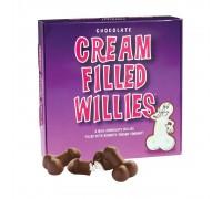 Набор шоколадных конфет с начинкой Cream Filled Willies (92 гр)