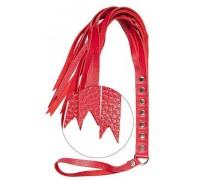 sLash - Флогер S&M Fancy Leather Floger, RED (280132)