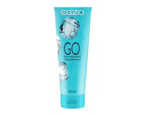 """EGZO - Охлаждающий гель-лубрикант EGZO """"GO"""" с пролонгирующим эффектом, 50 мл (280730)"""