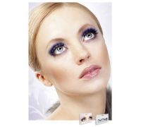 Baci Eyelashes - Реснички Black-Purple Deluxe Eyelashes (B532)