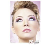 Baci Eyelashes - Реснички Multi-colored Deluxe Eyelashes (B544)
