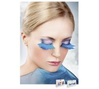 Baci Eyelashes - Реснички Light Blue Feather Eyelashes (B638)