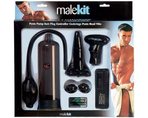 Seven Creations - Набор для мужчин Male Kit, BLACK (DT50562)