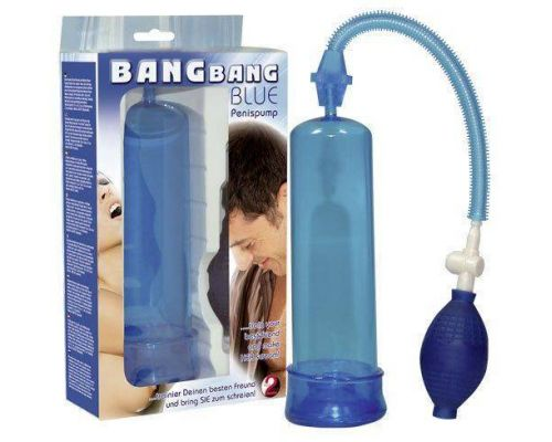 Помпа Bang Bang Penis Pump, Blue (519952)