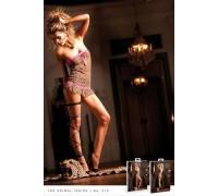 BACI - Пеньюар Leopard-Pink Lace Tube Dress (B72-LEOPARD PINK-OS)