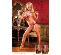 BACI - Комплект Pink-Black Show Me Lace Bikini Set (B108-BLACK PINK-OS)