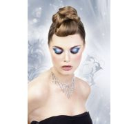 Baci Eyelashes - Реснички Black-White Rhinestone Eyelashes (B504)
