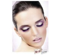 Baci Eyelashes - Реснички Purple Deluxe Eyelashes (B545)