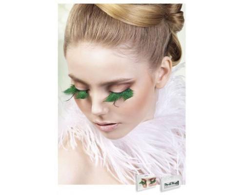 Baci Eyelashes - Реснички Turquoise Feather Eyelashes (B603)