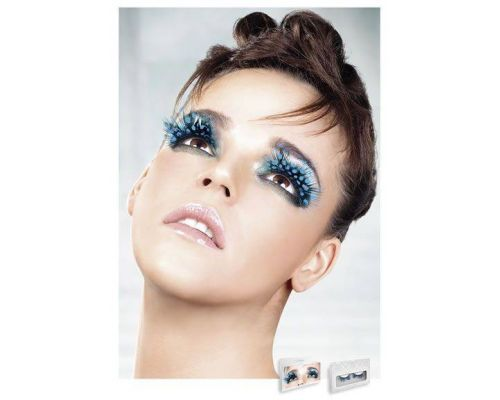 Baci Eyelashes - Реснички Blue Feather Eyelashes (B612)