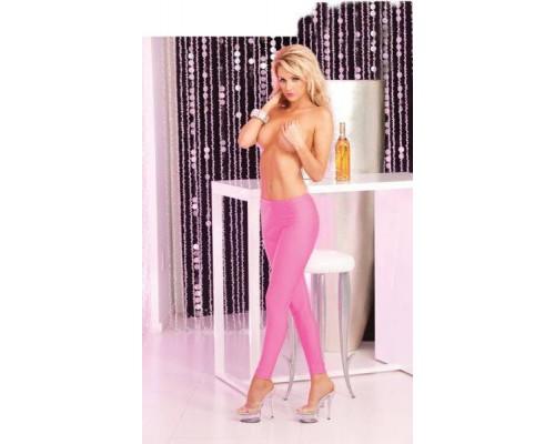 Pink Lipstick Lingerie - Легинсы Sleek and shiny pink leggings, S/M (PL7226001PSM)