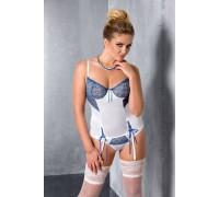 ELENI CORSET white 6XL/7XL - Passion