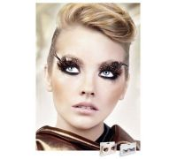 Baci Eyelashes - Реснички Brown-Black Feather Eyelashes (B626)