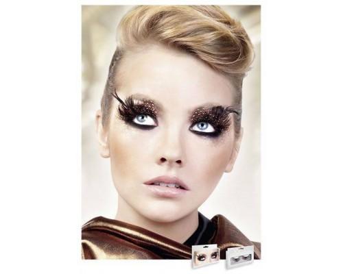 Baci Eyelashes - Реснички Brown-Black Feather Eyelashes (B626)