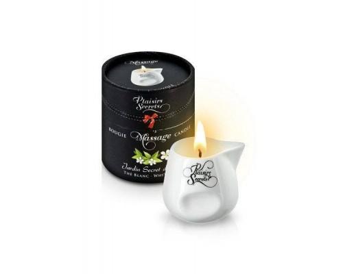 Массажная свеча Plaisirs Secrets White Tea (80 мл)