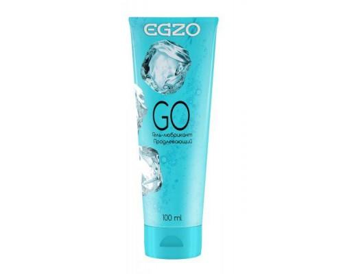 """EGZO - Охлаждающий гель-лубрикант EGZO """"GO""""с пролонгирующим эффектом, 100 мл (280729)"""