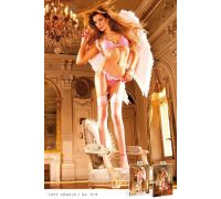 BACI - Комплект Hot Pink-Baby Pink Lace Bikini Set (B18-HOTPINK-OS)