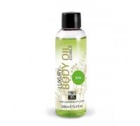 HOT - Съедобное масло для тела HOT-SHIATSU с ароматом Лайма, 100 мл (H66017)