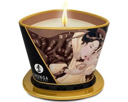 Shunga - Свеча для массажа MASSAGE CANDLE INTOXICATING CHOCOLATE, 170 мл (T274509)