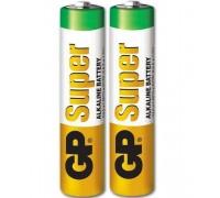 GP - Батарейки GP Super Alkaline AAA, 2 шт (GPAAA)