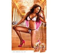 BACI - Комплект Baby Pink Bikini Set (B38-BABYPINK BLACK-OS)