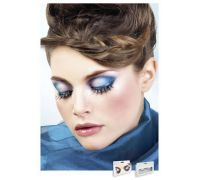 Baci Eyelashes - Реснички Multi-colored Rhinestone Eyelashes (B533)