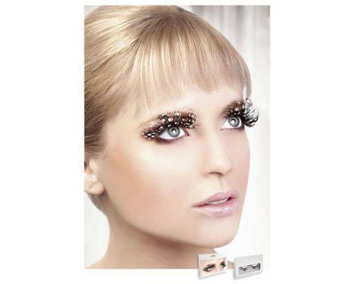 Baci Eyelashes - Реснички Brown Feather Eyelashes (B607)