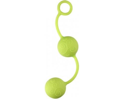 Dream Toys - Шарики вагинальные NEON PLEASURE BALLS, GREEN (DT20575)