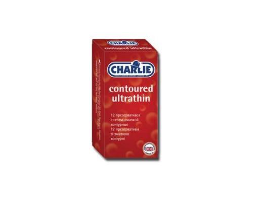 Charlie презервативы контурные №12