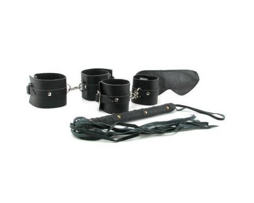 Набор для БДСМ Fetish Fantasy Premium Leather Bondage Kit