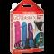 Набор страпонов Dual Density Set Multicolor