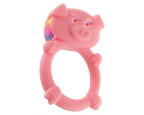 Эрекционное виброкольцо Mad Piggy