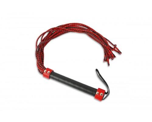 Плеть с множеством хвостов, красно-черная