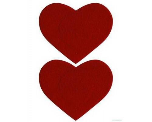 Многоразовые наклейки-сердечки на соски