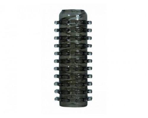 Мастурбатор Power Stroker, черный, 13 см