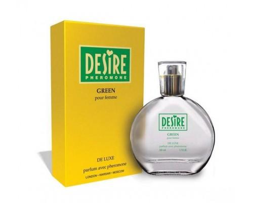 Женские духи Desire Green, 50 мл