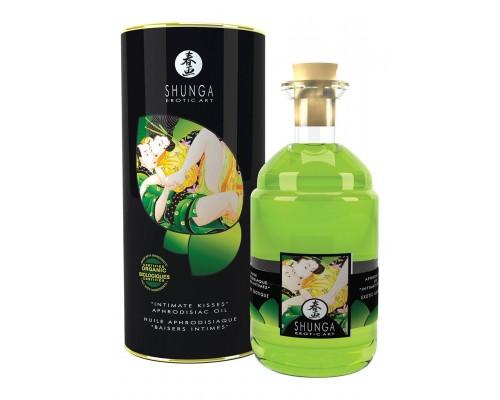Массажное масло Shunga Aphrodisiac Oil Green Tea Organic, 100 мл