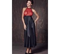 Длинное эротическое платье с открытой спиной Anais Apolonya