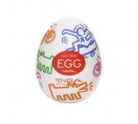Мастурбатор-яичко Tenga Keith Haring Street Egg Multicolored OS
