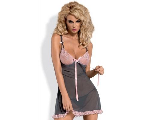 Эротический комплект Obsessive Dovelia chemise
