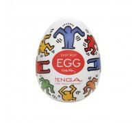 Мастурбатор-яичко Tenga Keith Haring Dance Egg Multi OS