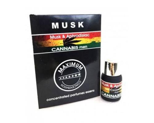 Духи с феромонами для мужчин Musk Cannabis 5ml men