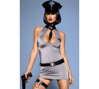 Эротический костюм Obsessive Police dress