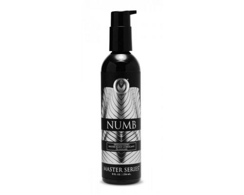 Лубрикант Numb Desensitizing Water Based Lubricant, 236 мл