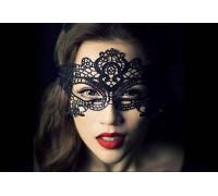Ажурная маска на глаза