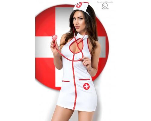 Костюм сексуальной медсестрички Chilirose, S/M