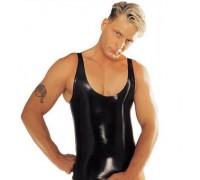 Латексная мужская майка Latex Vest
