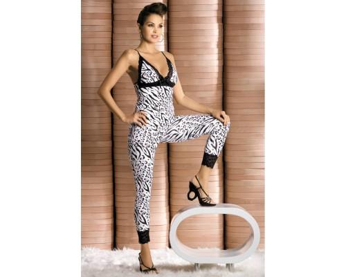 Сексуальный комплект Obsessive Zebra top
