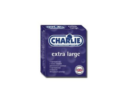 Charlie презервативы увеличенного размера №3