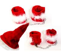 Секси набор Fetish Fantasy Xmas Plush Cuff Set